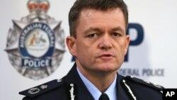 澳大利亚联邦警察署署长安德鲁•考尔文