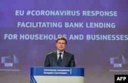 EU ေကာ္မရွင္ ဒုတိယဥကၠ႒ Valdis Dombrovskis