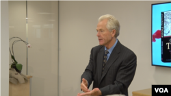 2015年12月10日,美国加州大学尔湾分校商学院教授彼得·纳瓦罗在新美国安全中心讨论他的新书《卧虎:中国军国主义对世界意味着什么》(五分彩官方拍摄)