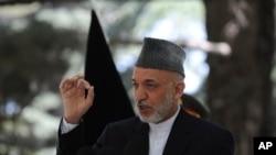 کرزی: 'طالبان ومخالفین، با آغاز پروسه انتقال مسؤولیت امنیتی، دیگر بهانه یی برای جنگ با قوای خارجی ندارند'