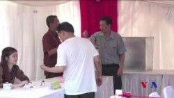印尼選民參與雅加達省長決選投票 (粵語)