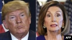 Shugaban Amurka Donald Trump da kakakin Majalisar Wakilai Nancy Pelosi