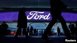 Ford berpartisipasi dalam Pameran Otomotif Amerika Utara di Detroit, Januari 2016.