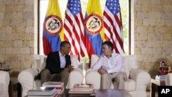 Los presidentes Juan Manuel Santos y Barack Obama asumieron una posición protagónica en la Cumbre de las Américas.