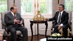 وزیراعظم نواز شریف کی ترکی کے صدر سے ملاقات