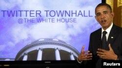 El presidente Obama ha realizado sesiones para responder preguntas de sus seguidores en Twitter.