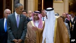 Presidente Obama e Rei Salman, Riade, Arábia Saudita