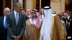 Президент США Барак Обама и король Саудовской Аравии Салман.