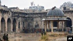 Aleppo, cidade fantasma.