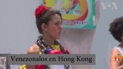"""""""Constituyente no es la salida"""": Venezolanos en Hong Kong"""