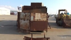 Kurds Display Cement-Fortified Military Vehicles Seized from IS