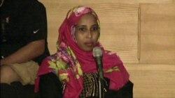 Somali Mother Explains Autism to Town Hall Participant