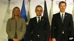 نشست دو روزه وزیران خارجه گروه هفت در فرانسه