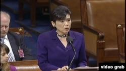 華裔議員趙美心在眾議院發言
