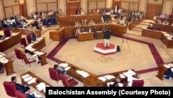 بلوچستان اسمبلی کے اجلاس کا ایک منظر۔ فائل فوٹو