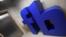 Logo Facebook di kantor London, Inggris, 4 Desember 2017.