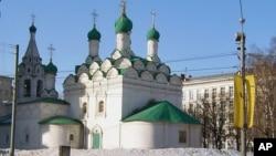 莫斯科市中心的東正教教堂