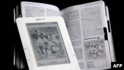 An Amazon Kindle e-Book