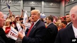 Donald Trump en campagne à La Nouvelle Orléans le 4 mars 2016.