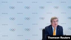 토마스 바흐 국제올림픽위원회(IOC) 위원장.