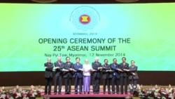 ASEAN Holds 25th Summit in Myanmar's Capital