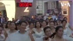 Cô dâu Thái chạy đua giành 60.400 đôla cho đám cưới hoành tráng
