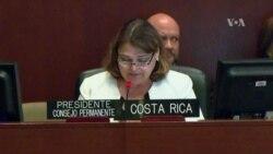 OEA vuelve a discutir crisis en Nicaragua