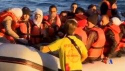 2016-06-03 美國之音視頻新聞: 裝載幾百名移民的船在地中海傾覆