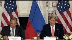 """2013-08-10 美國之音視頻新聞: 美國與俄羅斯官員在華盛頓""""坦率""""會談"""
