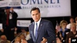 Cuộc thăm dò mới nhất của tổ chức Gallup cho thấy ông Mitt Romney được 35% người ủng hộ