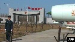 Phi công Trung Quốc tại căn cứ không quân Dương Xuân