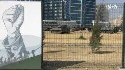 """""""Hərbi qənimətlər"""" parkının açılışı olub"""