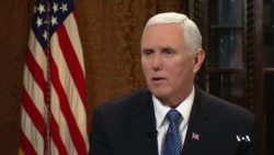 Pence: People of the United States Want Iranians to Achieve Democratic Future
