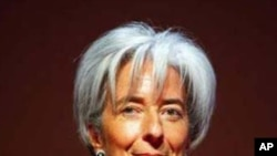 French Finance Minister Christine Lagarde (File)