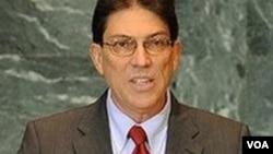 """El canciller cubano, Bruno Rodríguez, reiteró que la Posición Común es """"injusta, unilateral e injerencista""""."""