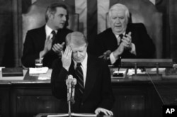 President Jimmy Carter addressing lawmakers in 1979.