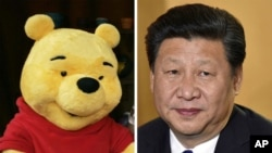 Social media users have compared Xi's physical appearance to that of Winnie the Pooh for several years.