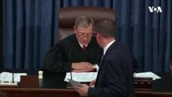 Tramp Senatda impiçment məhkəməsində bəraət qazandı