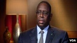 FILE - Macky Sall, President of Senegal.