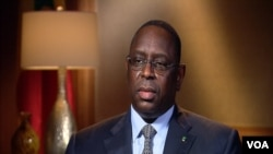 Le président Macky Sall du Sénégal
