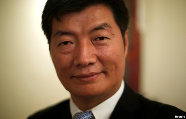资料照:藏人行政中央司政洛桑森格