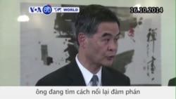 Ông Lương Chấn Anh tìm cách đàm phán với người biểu tình (VOA60)