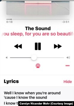 Apple Music Lyrics