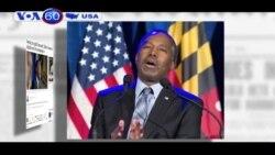 Ứng viên Ben Carson đình chỉ chiến dịch tranh cử (VOA60)