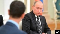 Suriya Prezidenti Bashar al-Assad yaqinda Moskvaga tashrif buyurgan edi