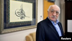 FILE - U.S.-based cleric Fethullah Gulen is seen at his home in Saylorsburg, Pennsylvania, July 29, 2016.