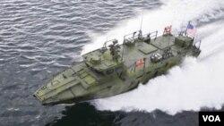 """""""Riverine Command"""" forma parte de una serie de experimentos y esfuerzos de la Marina para reducir la dependencia de la flota en los combustibles fósiles."""