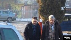 Dolazak na ročište Gorana Salihovića i advokata Rifata Konjića
