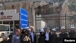 US delegation visits Syria-Turkey border