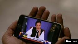 عمران خان نے قوم سے خطاب میں کشمیر کے حوالے سے حکومتی اقدامات کا بھی ذکر کیا — فائل فوٹو